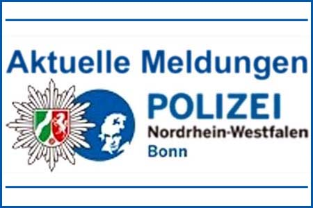 Meldungen der Bonner Polizei