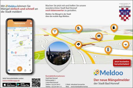 App Meldoo Bad Honnef