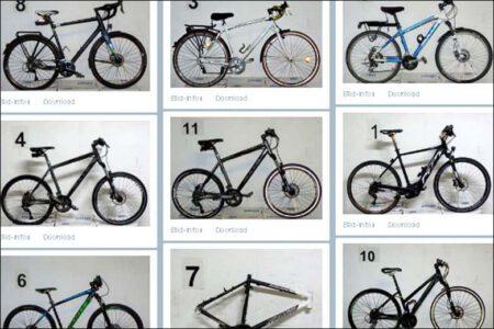 Bonner Polizei sucht Eigentümer gestohlener Fahrräder