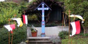 Blaues Wegekreuz in Aegidienberg eingeweiht