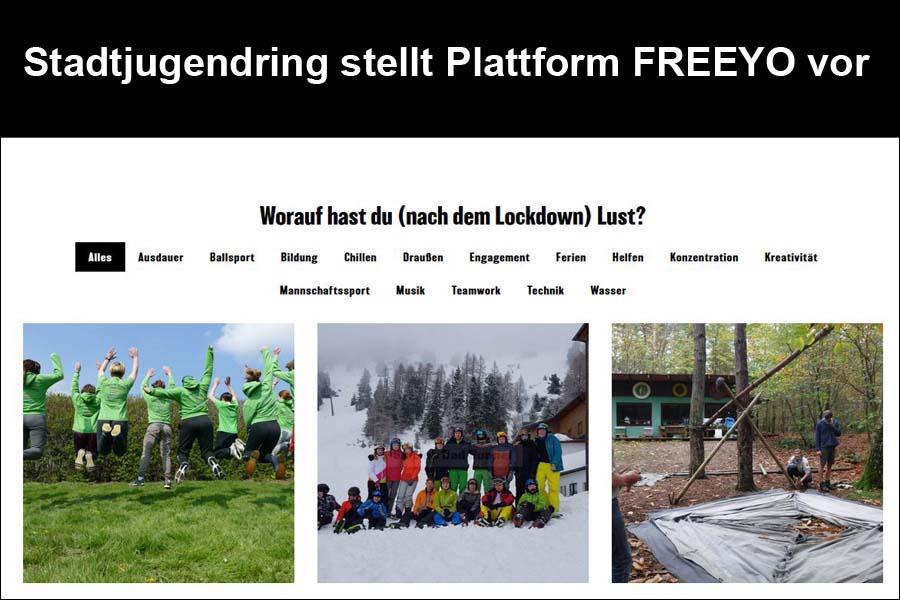 Stadtjugendring stellt Plattform FREEYO vor