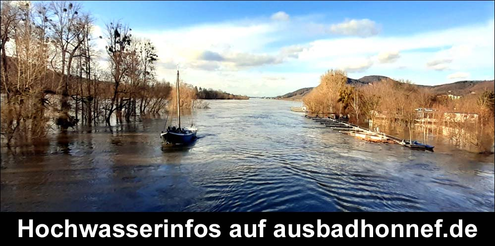 Hochwasser in Bad Honnef