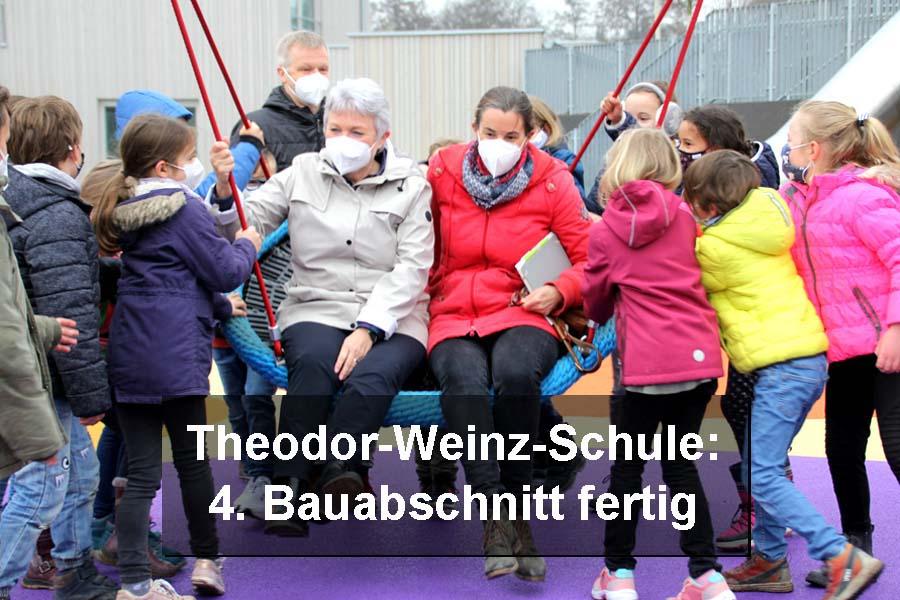 4. Bauabschnitt an der Theodor-Weinz-Schule fertiggestellt