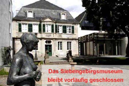 Das Siebengebirgsmuseum bleibt vorläufig geschlossen