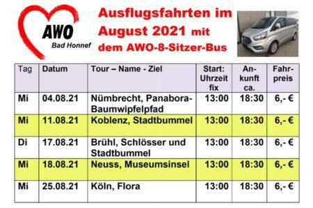AWO-Fahrten 2108
