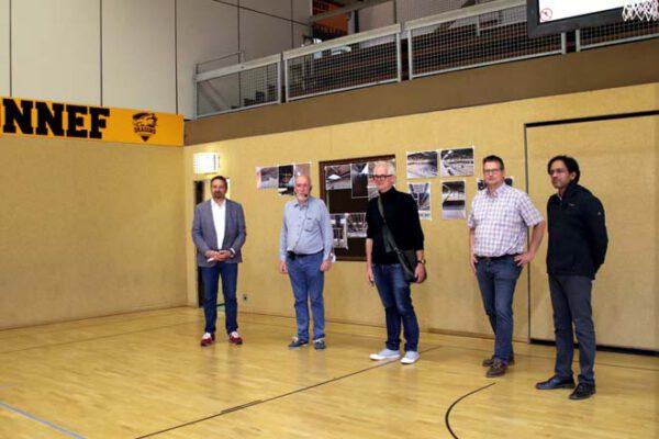 Menzenberger Sporthalle wieder für die Nutzung freigegeben