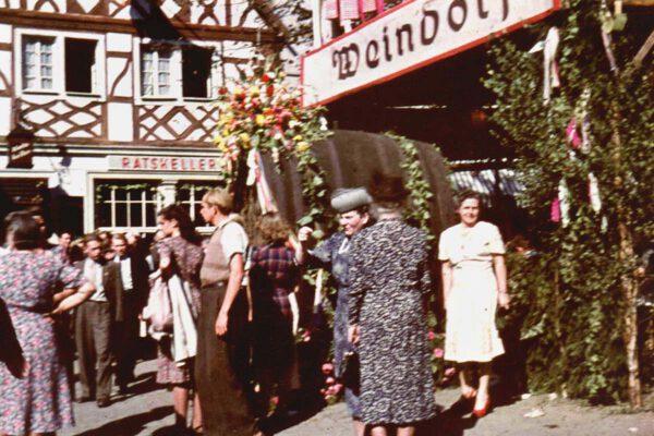 Erinnerungen an die Honnefer Winzerfeste in den 50er Jahren