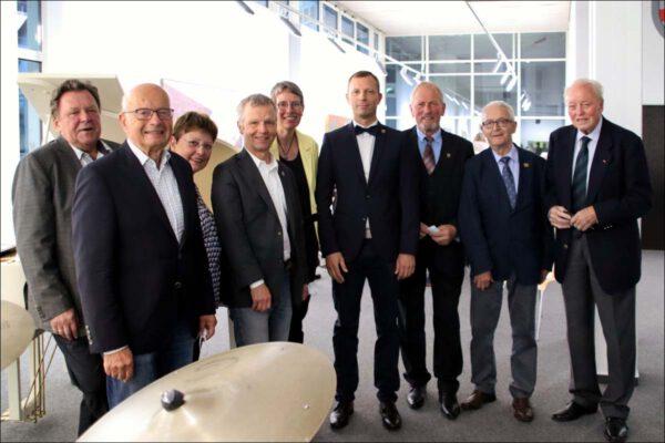 Besuch aus der Partnerstadt Wittichenau und Feierstunde zum Tag der Deutschen Einheit